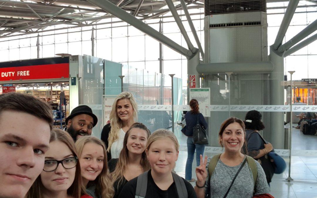 Besuch der ERASMUS+ AG in Dianalund (Dänemark)