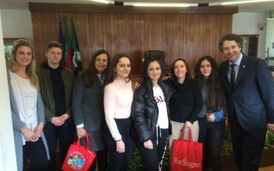 Fahrt der ERASMUS-AG nach  Ermesinde in Portugal